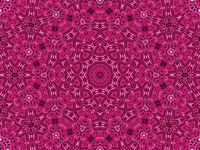 Flower abstract pattern