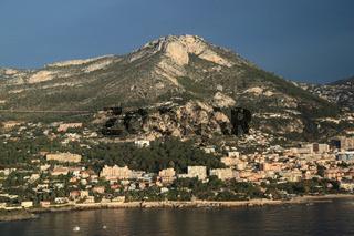 Cap-D'Ail an der französischen Mittelmeerküste