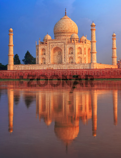 Taj Mahal mausoleum, Agra, India
