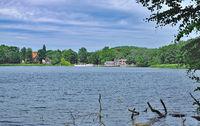 Sielbeck at Lake Kellersee near Eutin,Holstein Switzerland,Germany