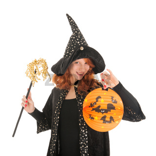 Evil witch for halloween