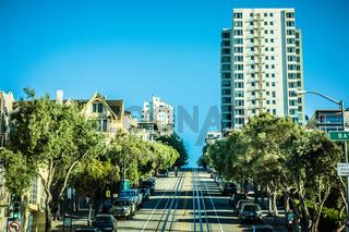 street views and scenes around san francisco california