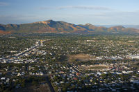 Aerial view on Townsville city