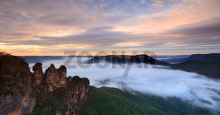 Meehni Wimlah and Gunnedoo Three Sisters Katoomba