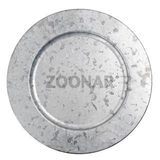 Round zink plate