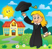 Graduation theme image 3