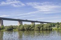 Freeway bridge near Regensburg