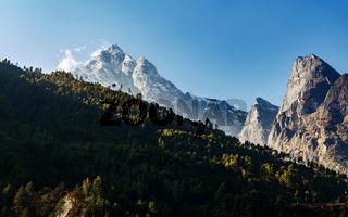 Kusum Kanguru mountain in Nepal
