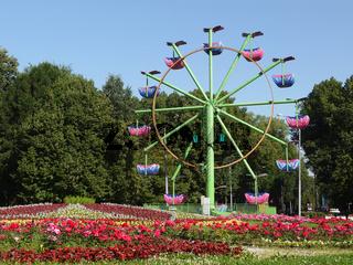 Vergnügungspark in Moskau