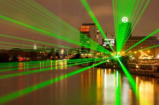 Lichterglanz in Berlin. Deutschland