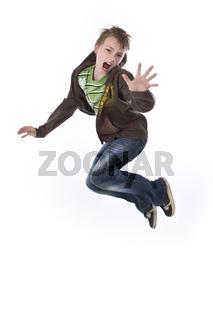 junge springt hoch wd724