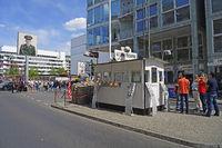 Ehemaliger Checkpoint Charlie, innerstädtischer Grenzübergang We