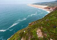Sandy ocean beach (Portugal).