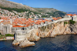 Old Town of Dubrovnik in Croatia