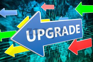 Upgrade text concept