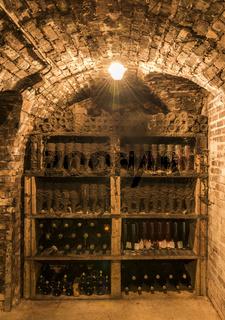 Old Bottles Champagne Ludes