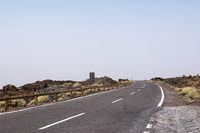 Empty road in Tenerife