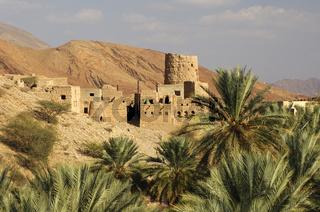 Wachturm aus Lehm, Oman