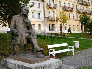 Johann Wolfgang Goethe,der vielleicht berühmteste Kurgast von Marienbad,Tschechien