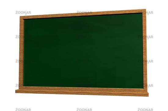 Schultafel  Photo schultafel auf weißem hintergrund - 3d illustration Image ...