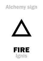 Alchemy: FIRE (Ignis)