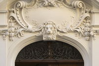 Leipzig - Neo-Baroque portal, Germany