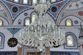 Leuchter der blauen Moschee in Manavgat