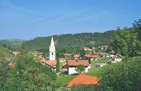 Village of Jungholz,exclave in Tirol,Austria