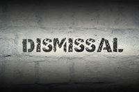 dismissal word gr