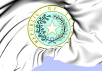 Republic of Texas Seal. Close Up.