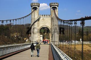 Charles-Albert Brücke, Allonzier-la-Caille