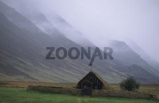 Alter isländischer Hof