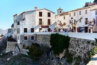 Old town of Guadalest. Spain