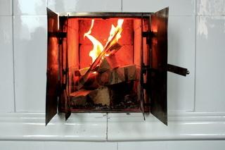 Feuer im schwedischen Ofen,Brennraum