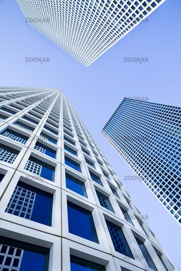 White Skyscrapers