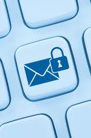 Verschlüsselte sichere E-Mail senden Internet online