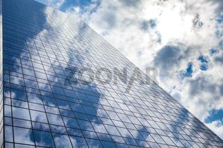 skyscraper against sky