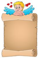 Cupid topic parchment 4