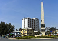 Yekatit 12 Monument auf dem Sidist Kilo Platz