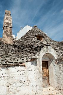 Old Trullo house in Alberobello, Puglia, Italy