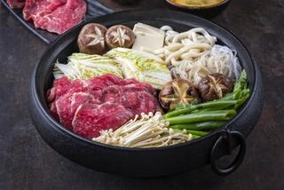 japanese sukiyaki hot pot