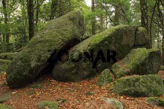 Granodiorit Felsbloecke