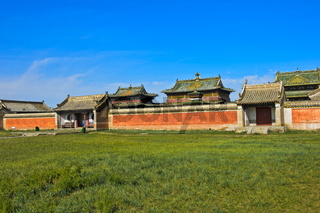 Tempelbereich, Kloster Erdene Zuu, Kharkhorin, UNESCO-Welterbe-Kulturlandschaft Orchon-Tal,Mongolei