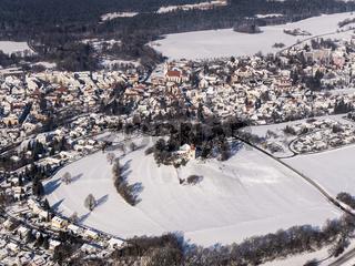 Bad Wurzach im Winter