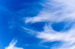 Hohe Schleierwolken