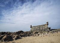 castelo do queijo old fort landmark in porto portugal