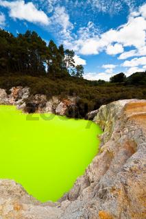 Devils Bath, New Zealand