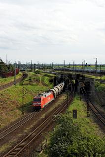 E-Lok BR 152 - Güterzug mit Kesselwagen