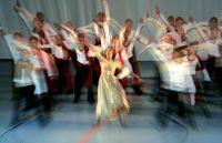 School Dancing Group