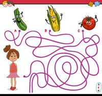 path maze activity task